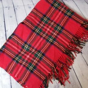 Highland Home Industries Bedding - Highland Home Industries all wool plaid blanket